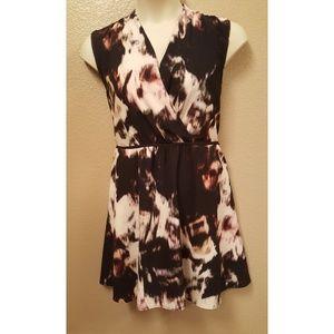 Simply Vera Vera Wang Abstract Design Dress